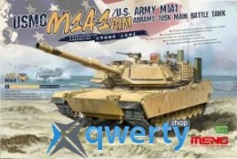 Meng USMC M1A1 AIM/U.S. Army M1A1 Abrams Tusk (TS-032)
