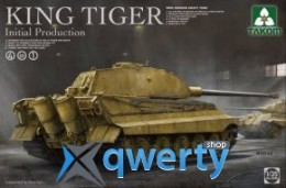 Takom WWII German heavy tank King Tiger initial production 4 in 1 (2096)