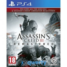 Assassins Creed III Remastered PS4 (русская версия)