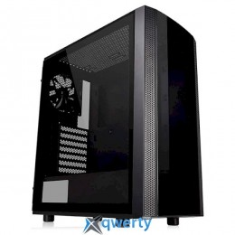 Thermaltake Versa J25 Tempered Glass RGB Edition (б/БП) Black (CA-1L8-00M1WN-00)
