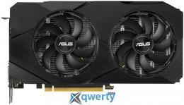 Asus PCI-Ex GeForce GTX 1660 Ti Dual O6G EVO 6GB GDDR6 (192bit) (1500/12002) (1 x DisplayPort, 2 x HDMI, 1 х DVI) (DUAL-GTX1660TI-O6G-EVO)
