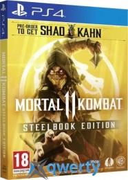 Mortal Kombat 11 Steelbook Edition PS4 (русские субтитры)