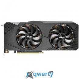 Asus PCI-Ex GeForce RTX 2080 Dual EVO OC 8GB GDDR6 (256bit) (1515/14000) (3 x DisplayPort, 1 x HDMI, 1 х DVI, 1 x USB Type-C) (DUAL-RTX2080-O8G-EVO)