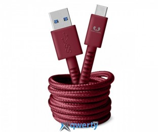 Fresh N Rebel Fabriq USB-C Cable 1,5m Ruby (2CCF150RU)