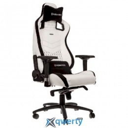 NOBLECHAIRS Epic Series White/Black (GAGC-085)