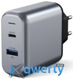 Satechi 30W Dual-Port Wall Charger Space Gray (ST-MCCAM-EU)