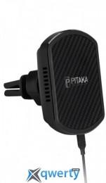 Pitaka Magnetic Mount Qi Pro Car Vent Black (CM002Q)