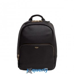 Knomo Mini Mount Leather Backpack 10 Black (KN-120-405-BLK) купить в Одессе