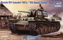 Trumper 	Russian KV-1 model 1941 /KV Small Turret Tank (TR00356)