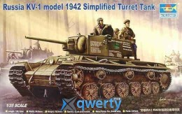 Trumper 	Russian KV-1 Model 1942 Simplified Turret Tank (TR00358)