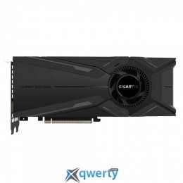 GigaByte PCI-Ex GeForce RTX 2080 Ti 11GB GDDR6 (352bit) (1545/14000) (DisplayPort, HDMI, USB Type-C) (GV-N208TTURBO-11GC)