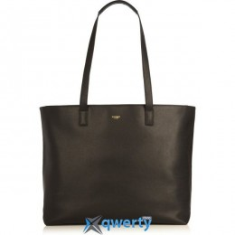 Knomo Maddox Leather Tote 15 Black (KN-120-204-BLK)