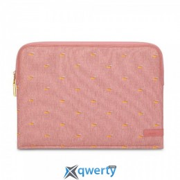 Moshi Pluma Designer Laptop Sleeve Macaron Pink 13 for MacBook Pro 13 with/without Touch Bar (99MO104301)
