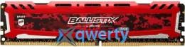 MICRON  Crucial Ballistix Sport LT Red DDR4 16GB 3000MHz (BLS16G4D30AESE)