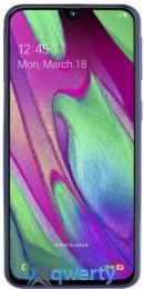 Samsung Galaxy A40 2019 SM-A405F 4/64GB Blue (SM-A405FZBD)