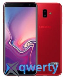 Samsung Galaxy J6 Plus 2018 3/32GB Red (SM-J610FZRN)