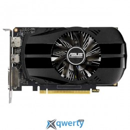 Asus PCI-Ex GeForce GTX 1650 Phoenix 4GB GDDR5 (128bit) (1485/8002) (DVI, HDMI, DisplayPort) (PH-GTX1650-4G)