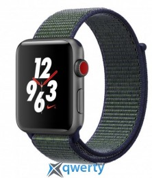 Apple Watch Series 3 Nike+ (GPS + LTE) MQLH2 42mm Space Gray Aluminum Case with Midnight Fog Nike Sport Loop