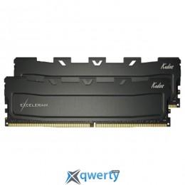 Exceleram DDR4 8GB Kudos Black (2x4) (EKBLACK4082415AD)
