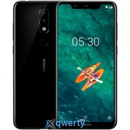 Nokia X5 2018 4/64GB Black