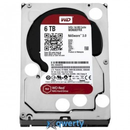 WD Red 6TB SATA/256MB (WD60EFAX) 3,5