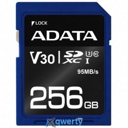 ADATA 256GB SDXC class 10 UHS-I U3 V30 (ASDX256GUI3V30S-R) купить в Одессе