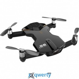 Wingsland S6 GPS 4K Pocket Drone-2 Batteries Black