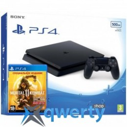 Sony Playstation 4 Slim 500GB + Mortal 11