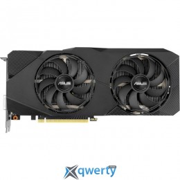 Asus PCI-Ex GeForce RTX 2070 Dual EVO 8GB GDDR6 (256bit) (1410/14000) (DVI, 2 x HDMI, 2 x DisplayPort) (DUAL-RTX2070-A8G-EVO)