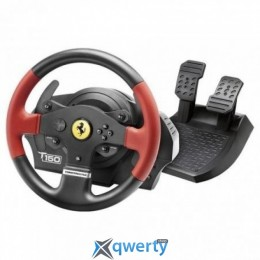 Thrustmaster Руль и педали для PC/PS3/PS4 Thrustmaster T150 Ferrari Wheel with Pedals (4160630)