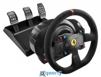 Thrustmaster Руль и педали для PC/PS4®/PS3® T300 Ferrari Integral RW Alcantara edition (4160652)