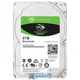 Seagate BarraCuda HDD 5TB 5400rpm 128MB ST5000LM000 2.5 SATA III