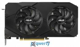 Asus PCI-Ex GeForce RTX 2060 Dual EVO OC Edition 6GB GDDR6 (192bit) (1365/14000) (DVI, 2 x HDMI, DisplayPort) (DUAL-RTX2060-O6G-EVO)