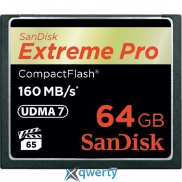 SANDISK Compact Flash Card 64Gb Extreme PRO (SDCFXPS-064G-X46)