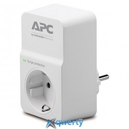 APC Essential SurgeArrest (PM1W-RS) White