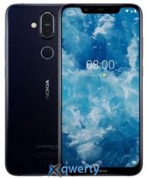 Nokia 8.1 6/128GB Blue/Silver