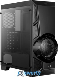 AeroCool AeroEngine RGB Tempered Glass Black