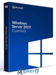 Microsoft Windows Svr Essentials 2019 64Bit Russian DVD 1-2CPU (G3S-01308)