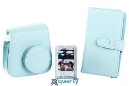 FUJIFILM  INSTAX ACCESSORY BUNDLE ICE BLUE(чехол, фоторамка и фотоальбом) (70100138067)