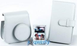 FUJIFILM  INSTAX ACCESSORY BUNDLE SMOKEY WHITE(чехол, фоторамка и фотоальбом) (70100138065)
