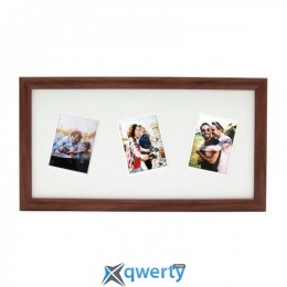 FUJIFILM INSTAX 3 RANDOM MOUNT MINI FRAME Brown OAK(70100139148)