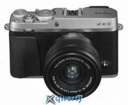FUJIFILM X-E3 + XC 15-45mm F3.5-5.6 Kit Silver (16584814)