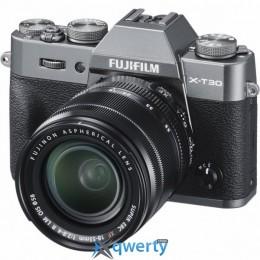FUJIFILM X-T30 + XF 18-55MM F2.8-4R KIT CHARCOAL SILVER (16620125)
