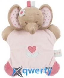 Nattou игрушка-подушка слоник Рози 24см (655088)