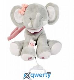Nattou с музыкой слоник Адель 28 см (424059)
