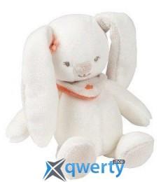 Nattou Маленькая игрушка кролик Мия 18см белый  (5620341)