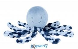 Nattou Lapiduo Octopus синий 23см (878722)