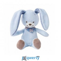 Nattou Маленькая игрушка Кролик Бибу голубой 18см (321037)