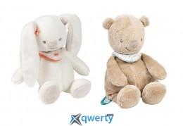 Nattou Набор мягких игрушек Мия и Базиль 18см (562034)
