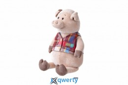 Same Toy Свинка в жилетке 35см (THT723)